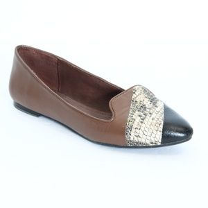 Yosi Samra Ballet Flats sz 7 Women Leather Slip On